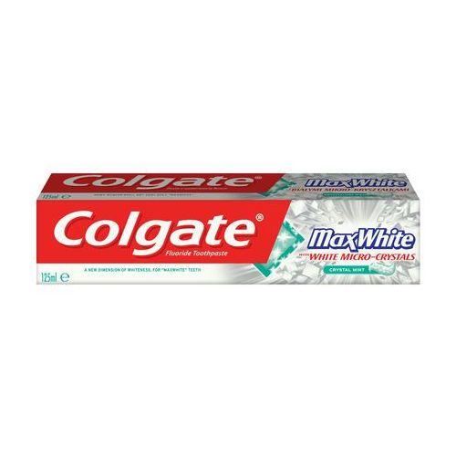 Colgate  pasta do zębów max white pasta wybielająca do zębów 125ml (7891024123140)