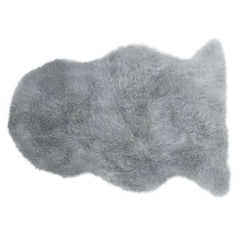 Arte Dywan auckland luxury faux sheepskin single silver 70x100