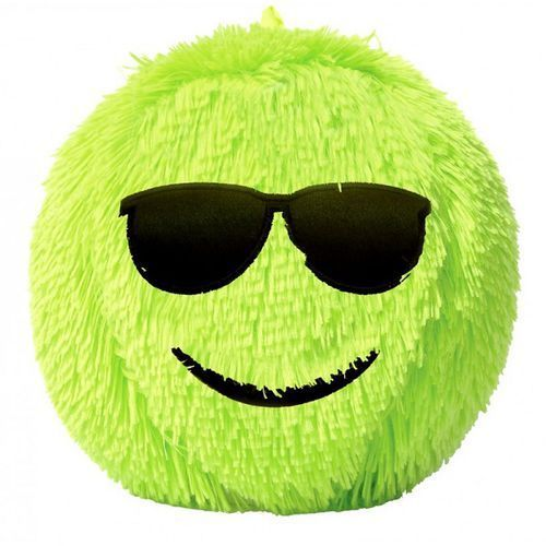 Piłka Fuzzy Ball S'cool Smarty neonowa D.RECT, 5902308710108