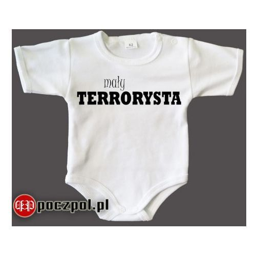 Mały terrorysta - body niemowlęce