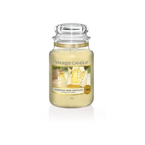 świeca homemade herb lemonade 623g marki Yankee candle