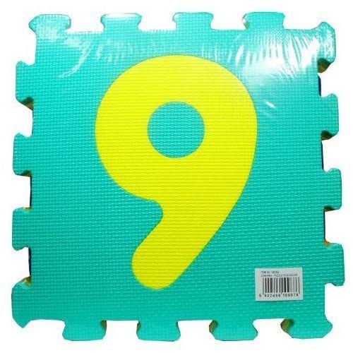 Swede Puzzle  podłogowe d105 cyfry (10 elementów) (5902496109876)