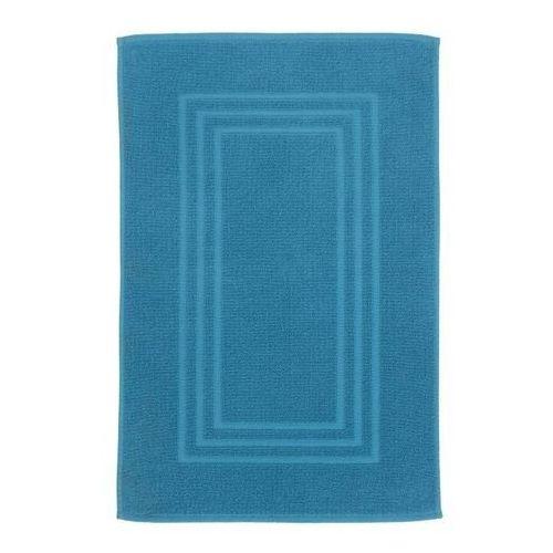 Dywanik łazienkowy palmi bawełniany 50 x 80 cm niebieski marki Cooke&lewis