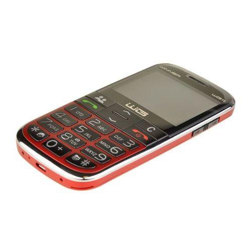 TELEFON KOMÓRKOWY WINNER WG15 DLA SENIORA BABCI DZIADKA czerwony - czerwony