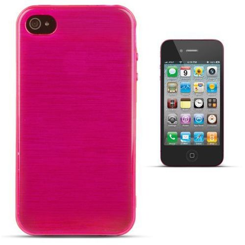 """""""Jelly Brush iPhone 4 / 4S"""" (Pink) (5901737290519)"""