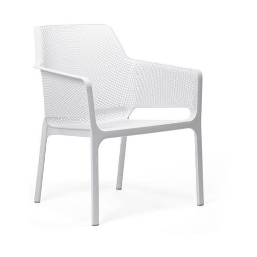 Krzesło Net Relax białe, T_8d02db03-91a3-414f-898a-fadf3a9d0bde
