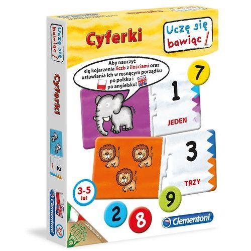 Karty Clementoni Cyferki C60042