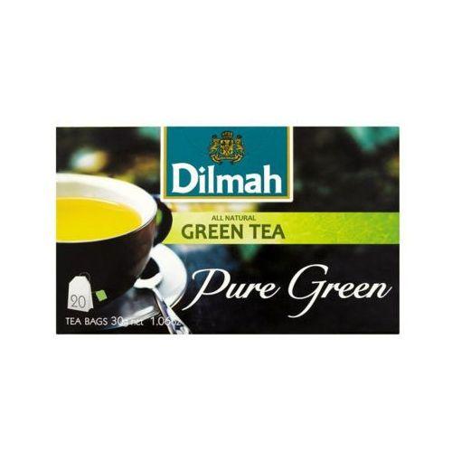 DILMAH 20x1,5g Herbata zielona ekspresowa