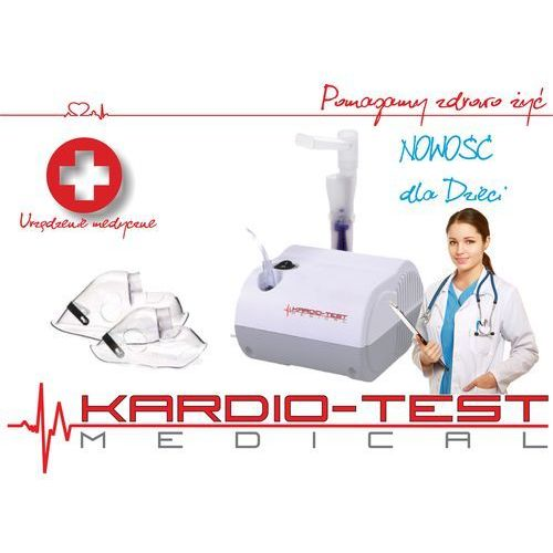 Kardio-test inhalator kt baby marki Hi-tech medical kardio-test