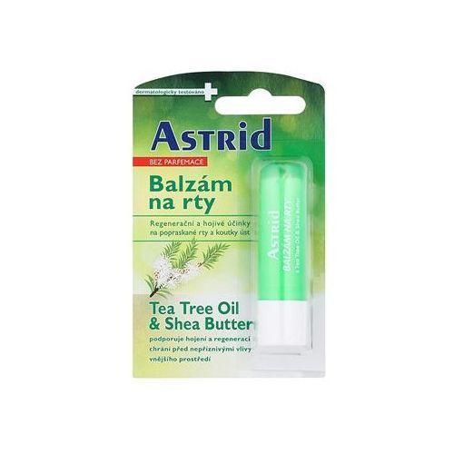 lip care lip care balsam regenerujący do ust (tea tree oil & shea butter) 4,8 g marki Astrid