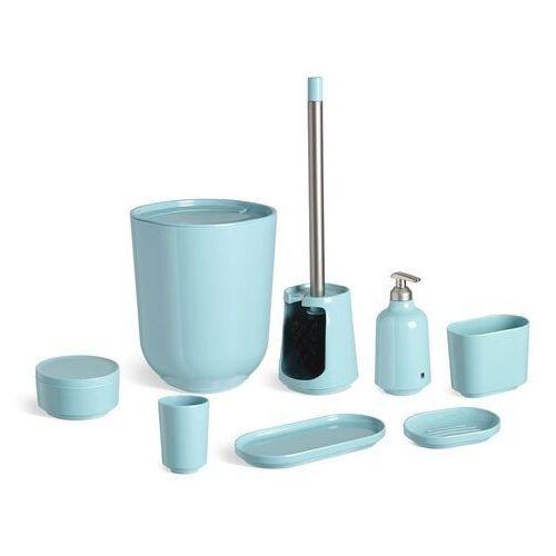 Umbra - kosz łazienkowy step - błękitny
