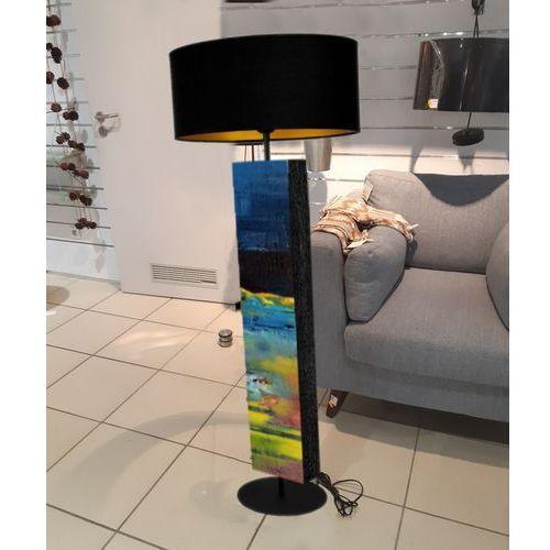 Rozlane niebo - modna lampa podłogowa w stylu eklektycznym