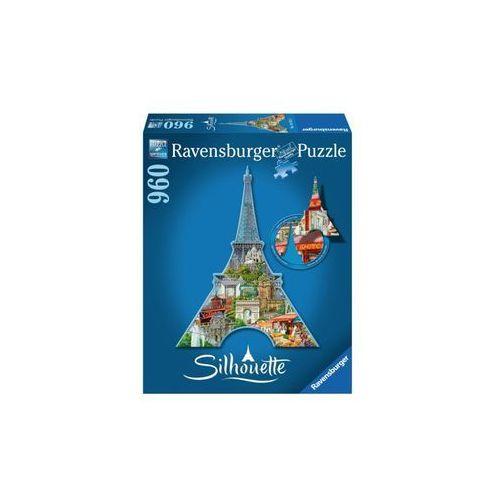 RAVEN Puzzle Wieża Eifla Profilowane