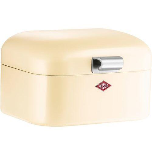 Wesco - pojemnik na pieczywo mini grandy - beżowy - brązowy ||beżowy