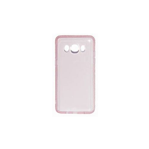 Obudowa dla telefonów komórkowych Beeyo Diamond Frame pro Samsung Galaxy J5 (2016) (BEASAGAJ52016TPUFRPI) Różowy