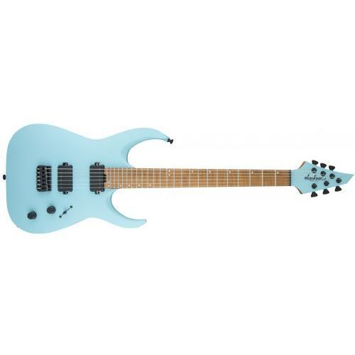 Jackson USA Signature Misha Mansoor Juggernaut HT6, Caramelized Flame Maple Fingerboard, Satin Daphne Blue gitara elektryczna