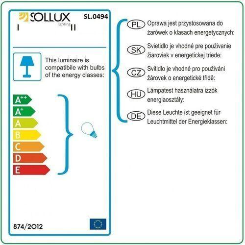 Kinkiet DIREZIONE Biały SL.0494 - Sollux - Black Friday - 21-26 listopada, KINSL0494