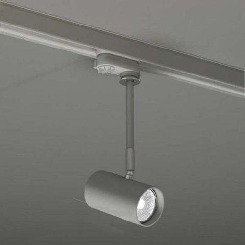 Reflektorowa LAMPA sufitowa FUSSA 6602/GU10/SZ Shilo metalowa OPRAWA do systemu szynowego 3-fazowego szary