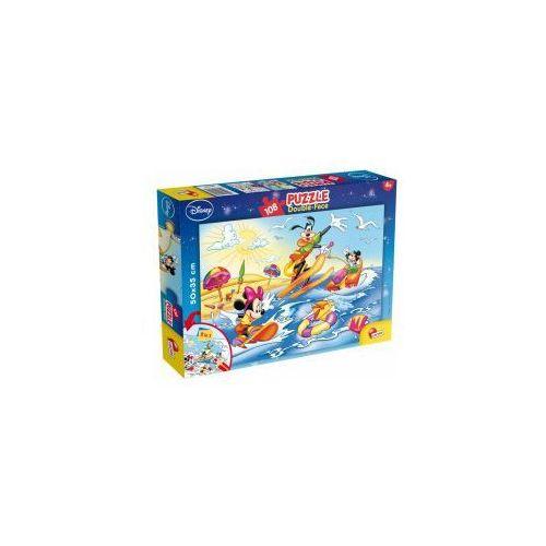 Myszka Miki i przyjaciele Puzzle 108 elementów 2 w 1, CentralaZ10090