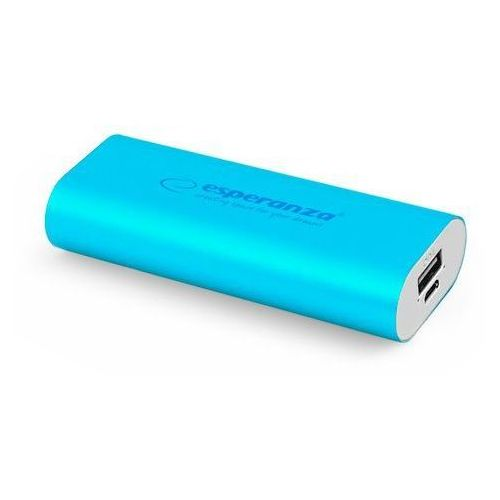 Ładowarka akumulator ESPERANZA POWER BANK HADRON 4400mAh - niebieski