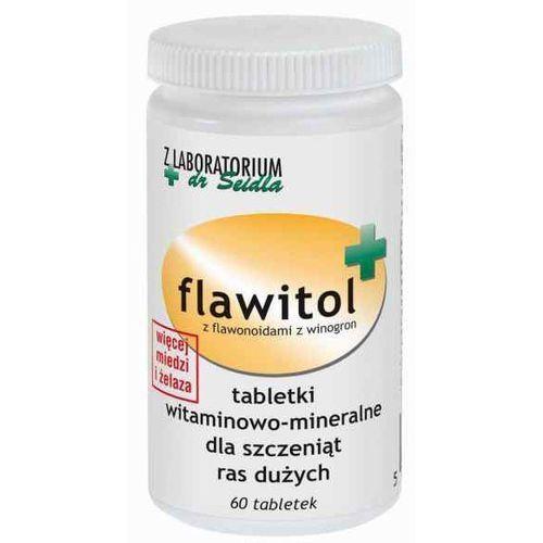 Tabletki Flawitol dla szczeniąt ras dużych 60 tabl