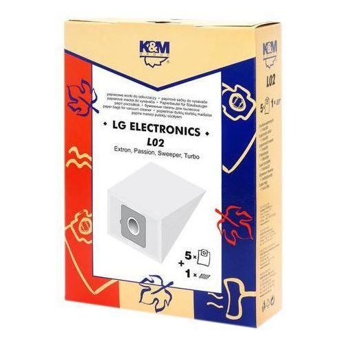 Worek do odkurzacza K&M L02 (5 sztuk) (5907525800229)