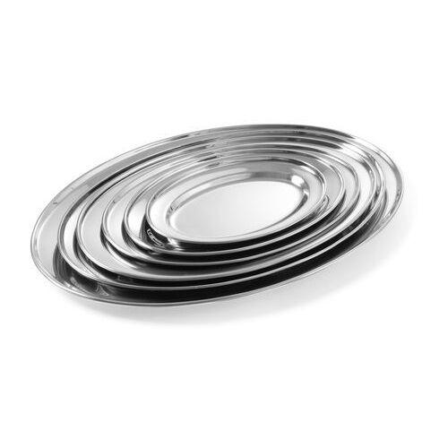 Półmisek do mięs i wędlin | owalny | stalowy | 300x220mm