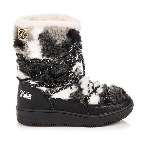 Kylie Futrzane śniegowce - czarny