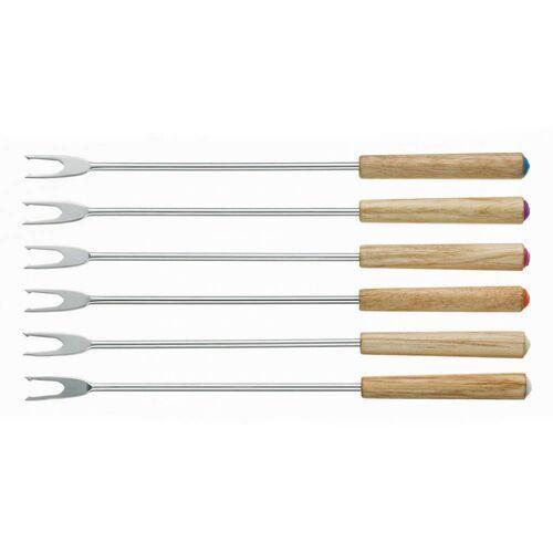 Kela - Modessa - 6 widelczyków do fondue (długość: 24,5 cm)