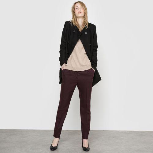 Półdługi dwurzędowy płaszcz marki R essentiel
