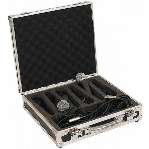 Rockcase rc-23206-b flight case - for 6 microphones, futerał na mikrofony