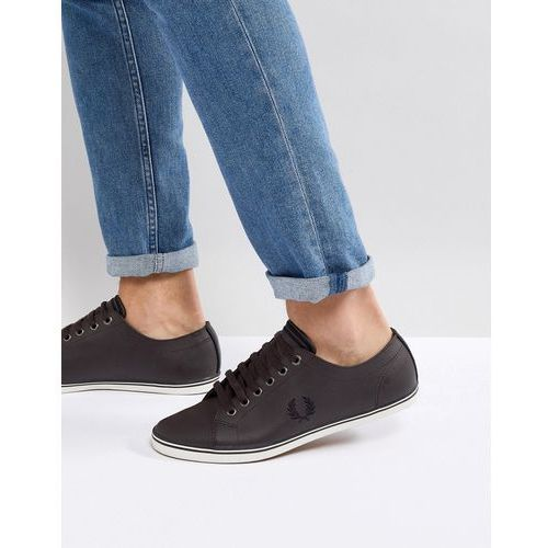 stamford suede trainers in brown - brown marki Fred perry