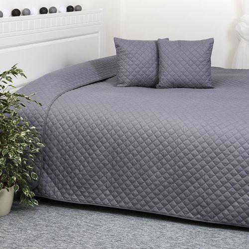 4Home Narzuta na łóżko Orient szary, 220 x 240 cm, 40 x 40 cm