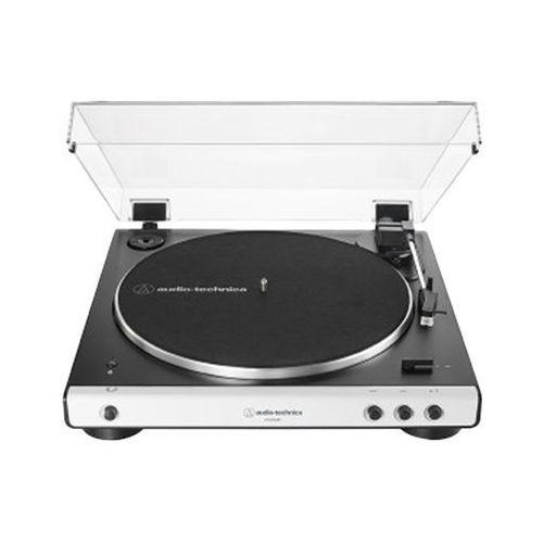 Gramofon AUDIO-TECHNICA AT-LP60XBT Biały, ATH-LP60XBT WHITE