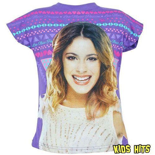 """Koszulka Violetta """"Love Music"""" fiolet 9 lat z kategorii bluzki dla dzieci"""