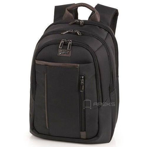 "Gabol Dallas damski plecak na laptopa 14,1'' i tablet 10"" / Negro - Negro, kolor czarny"