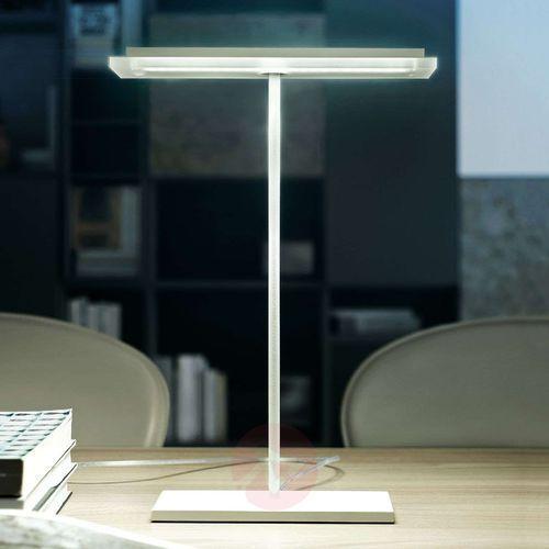 Płaska lampa stołowa led dublight led marki Linea light