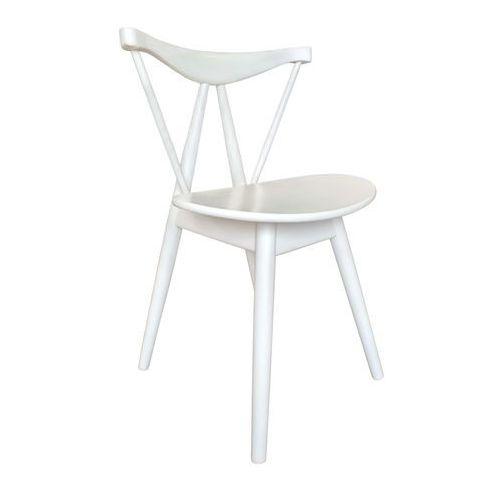 Nowoczesne krzesło Yeti white
