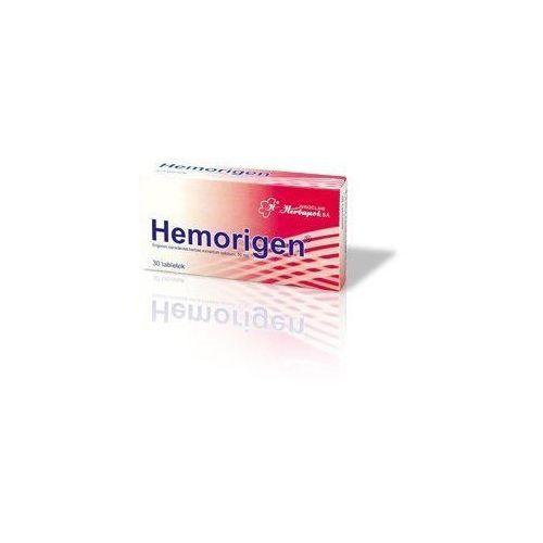 Hemorigen x 30 tabletek marki Herbapol wrocław