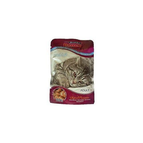 CERTECH Super Benek saszetka dla kota z kawałkami królika w sosie 24x100g