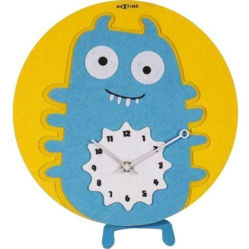 NeXtime - Zegar ścienny Bluepy - 30 cm, kolor niebieski