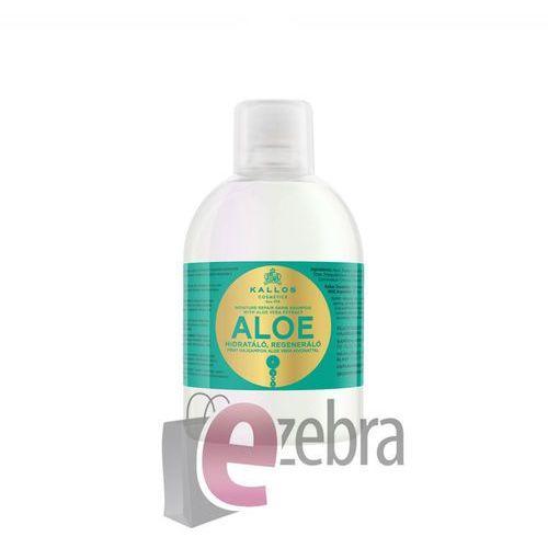 Kallos Aloe Vera Moisture Repair Shine Shampoo 1000ml W Szampon do włosów