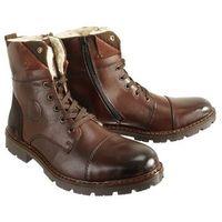 32133-25 brown, trzewiki męskie, Rieker