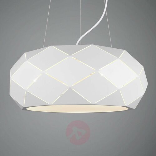 Lampa Wisząca Trio Leuchten ZANDOR Biały, 3-punktowe - Nowoczesny - Obszar wewnętrzny - ZANDOR - Czas dostawy: od 3-6 dni roboczych, 303500331