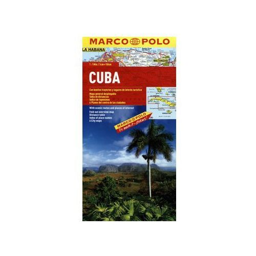 Mapa. Kuba 1:1 000 000. Marco Polo - Praca zbiorowa, praca zbiorowa