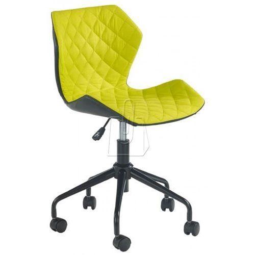 Fotel młodzieżowy Halmar Matrix zielony - gwarancja bezpiecznych zakupów - WYSYŁKA 24H, kolor zielony