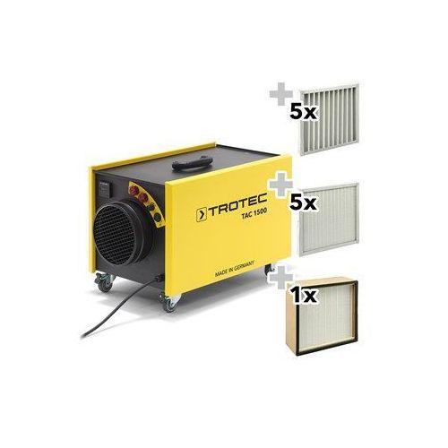 Oczyszczacz powietrza TAC 1500 ochrona przeciwkurzowa zestaw
