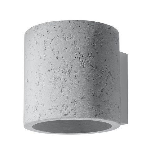 Kinkiet orbis 1xg9/40w/230v beton marki Sollux