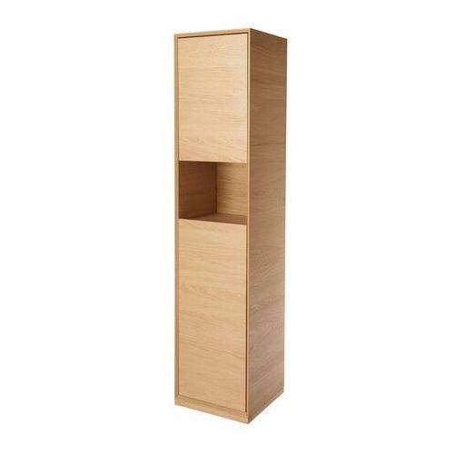 Goodhome Słupek łazienkowy avela 40 cm drewno (5059340018027)