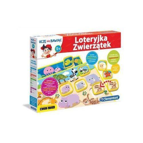 Clementoni Loteryjka zwierzątek - darmowa dostawa od 199 zł!!! (8005125605927)